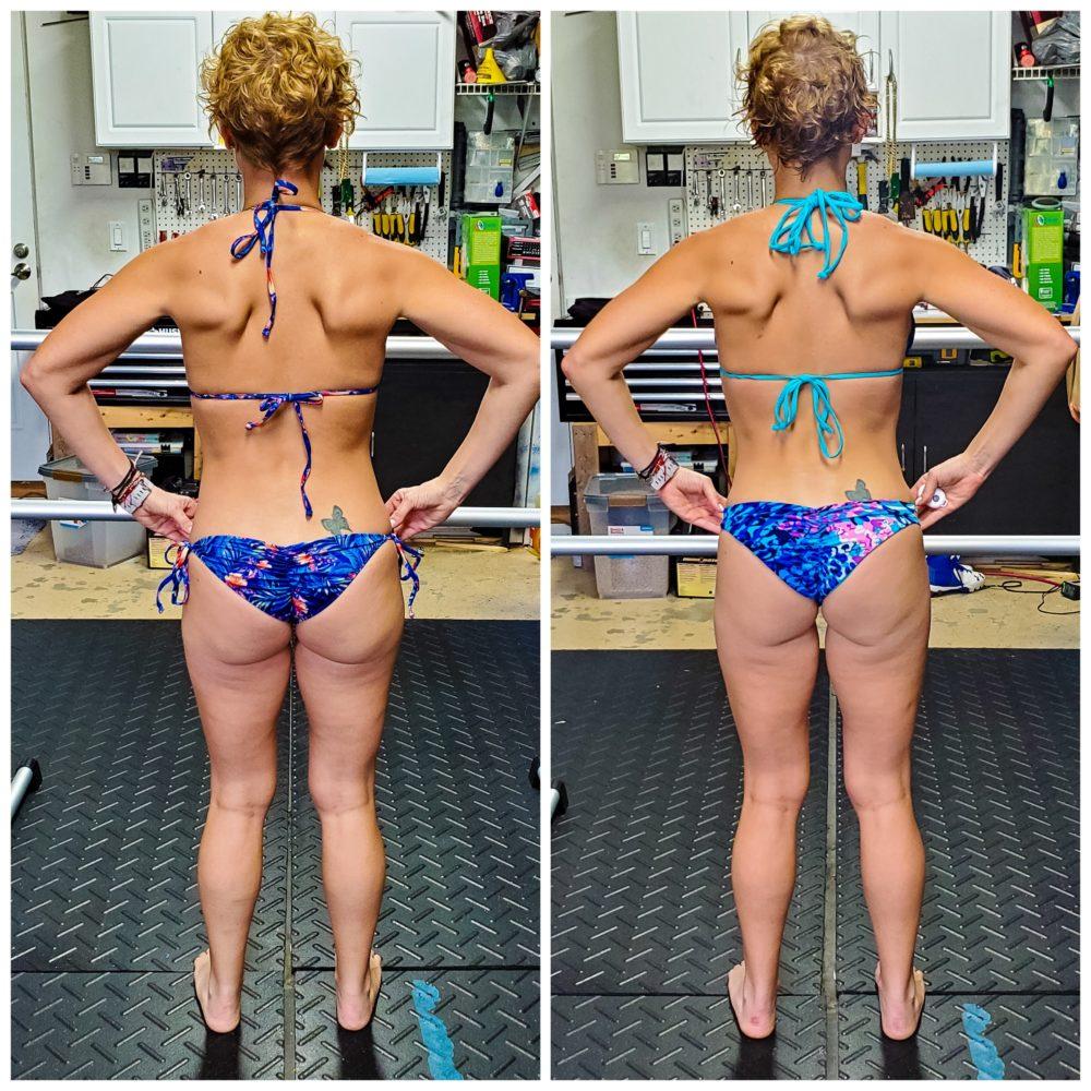 Becky Brossett Barre Blend Before & After